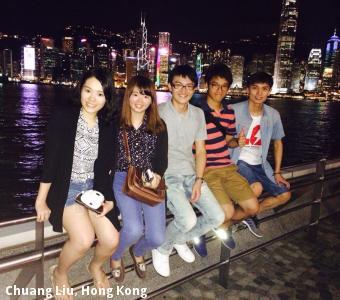 Chuang Liu, Hong Kong