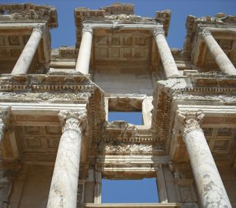 library of celsus selcuk turkey