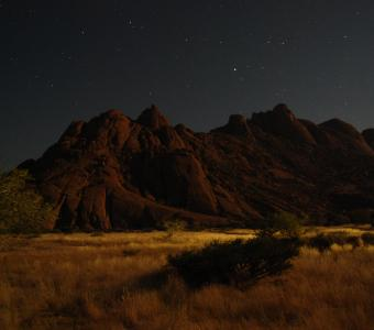 Africa Mountains night