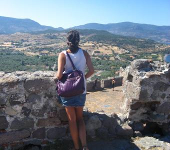 view greece ruins