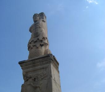 Odeion of Agrippa in Athens, Greece