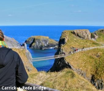 Alison Brierley Carrick-a-Rede Bridge, Ireland
