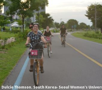 Dulcie Thomson, South Korea- Seoul Women's University