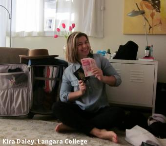 Kira Daley, Langara College