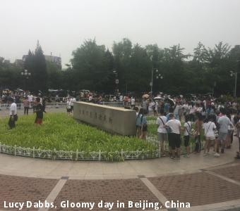Lucy Dabbs, Gloomy day in Beijing, China