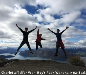 Charlotte Telfer-Wan, Roy's Peak Wanaka, New Zealand