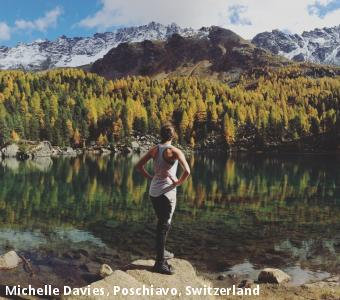 Michelle Davies, Poschiavo, Switzerland