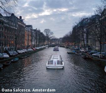 Oana Salcescu, Amsterdam