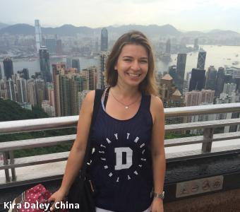 Kira Daley, China
