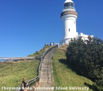 Cheyenne Rode, Vancouver Island University