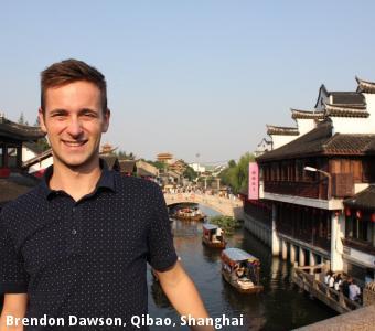 Brendon Dawson, Qibao, Shanghai