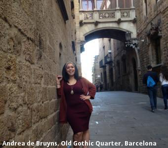 Andrea de Bruyns, Old Gothic Quarter, Barcelona