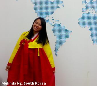 Melinda Ng, South Korea
