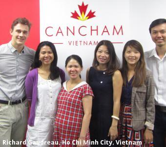 Richard Gaudreau, Ho Chi Minh City, Vietnam