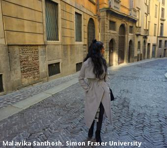 Malavika Santhosh, Simon Fraser University