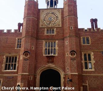 Cheryl Olvera, Hampton Court Palace