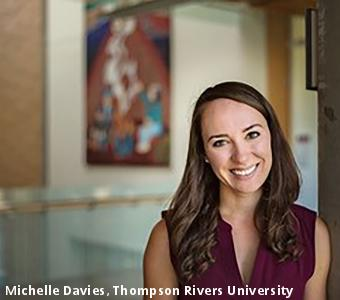 Michelle Davies, Thompson Rivers University