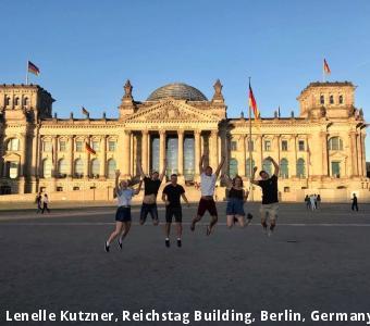 Lenelle Kutzner, Reichstag Building, Berlin, Germany