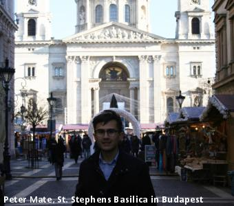 Peter Mate, St. Stephens Basilica in Budapest
