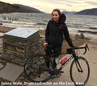 Janna Wale, Drumnadrochit on the Loch Ness
