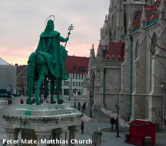 Peter Mate, Matthias Church