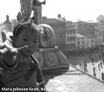 Mara Johnson Groh, Nepal