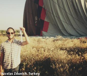 Nicolas Zdunich, Turkey
