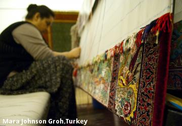 Mara Johnson Groh,Turkey