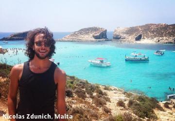 Nicolas Zdunich, Malta