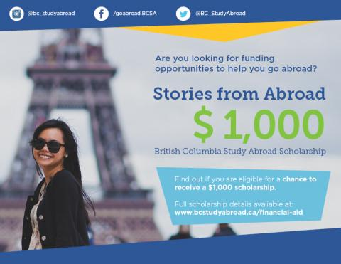 study abroad scholarship essay winners Make your scholarship application essay exclusive to you,  our free guide for  more advice on how to find scholarships to study abroad.