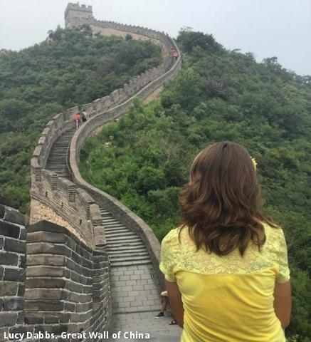 Lucy Dabbs, Great Wall of China