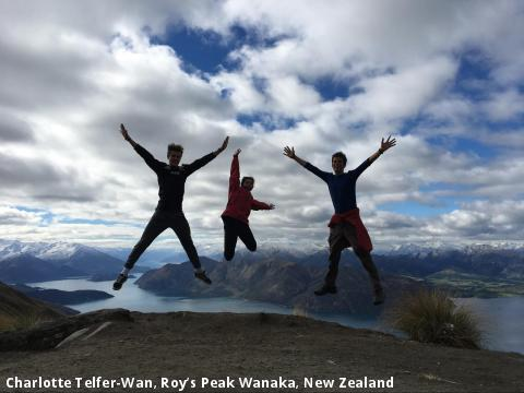 Charlotte Telfer-Wan, Roy's Peak Wanaka, New Zealand