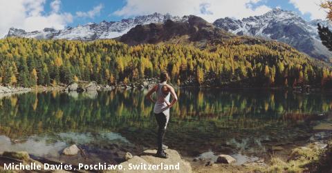 Michelle Davies, Poschiavo, Switzerland