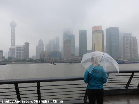 Shelby Anderton, Shanghai, China