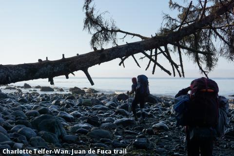 Charlotte Telfer-Wan, Juan de Fuca trail