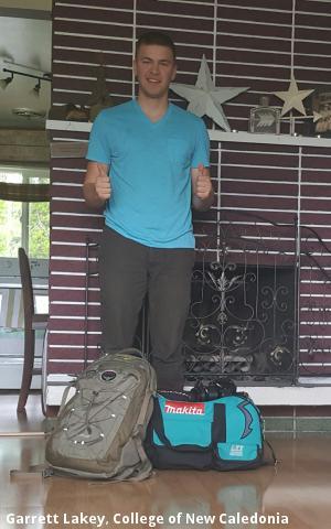 Garrett Lakey, College of New Caledonia