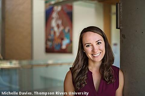 Michelle Davies, Thompson Rivers University