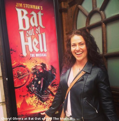 Cheryl Olvera at Bat Out of Hell The Musical