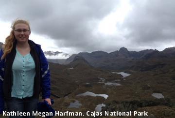 Kathleen Megan Harfman, Cajas National Park