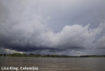 Lisa King, Colombia