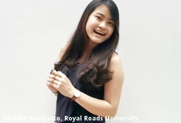 Adeline Hadijanto, Royal Roads University